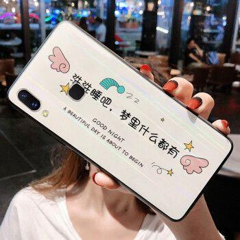 龙清 小米play手机壳小米miplay网红创意超薄个性保护
