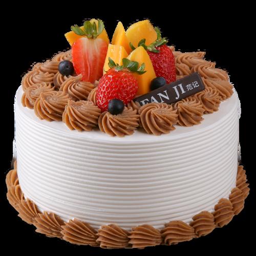 u然时光-法式栗茸生日蛋糕