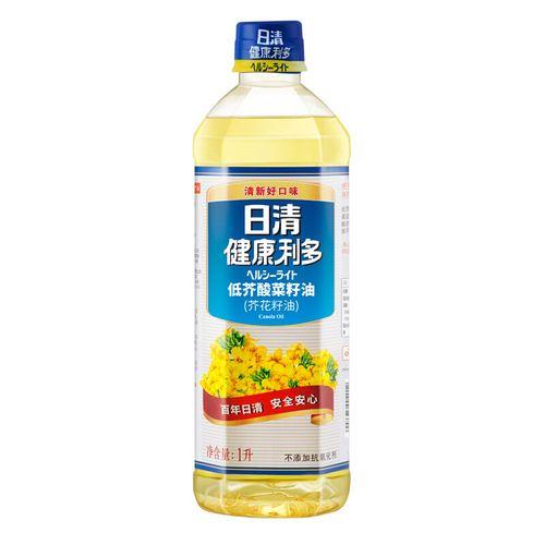 日清食用油 1l 浸出工艺 低芥酸菜籽油