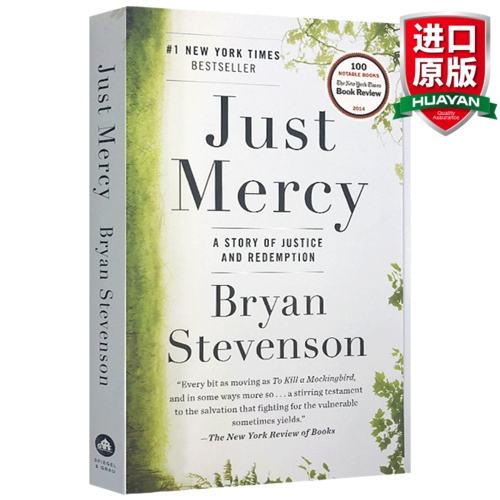 惠典正版英文原版 正义的慈悲 just mercy 美国司法中