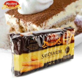 安诺尼手指饼干 提拉米苏慕斯蛋糕零食 进口饼干 烘焙