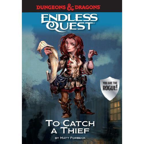 【预订】dungeons & dragons: to catch a thief: an