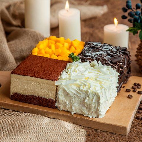 四重奏蛋糕(黄石)-2磅148元(广告)