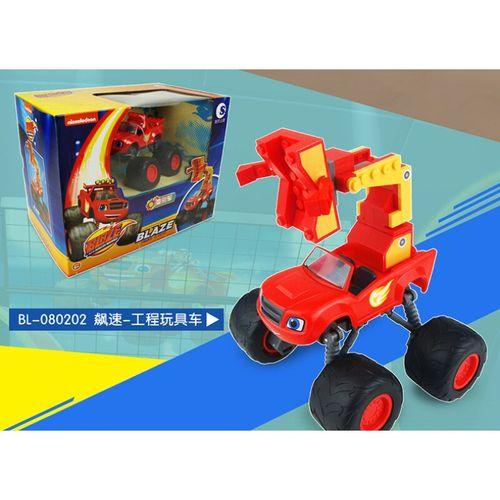 飙速战车 旋风战车队飚速玩具套装可变形工程消防车模型 飈速变形