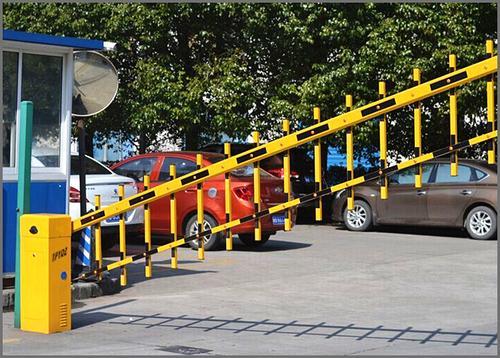 栅栏道闸机小区大门升降杆电动栏杆遥控停车场系统