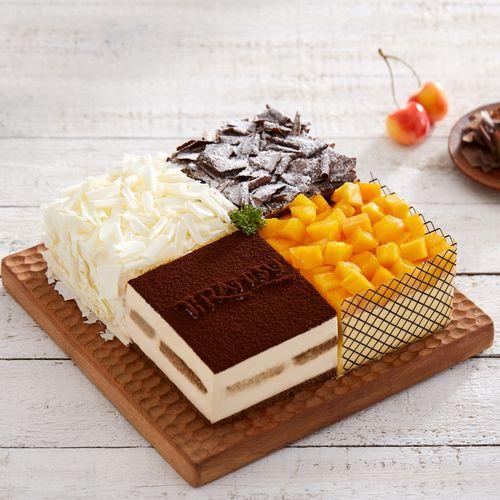 【特价158元】四重奏蛋糕-2磅(太原)