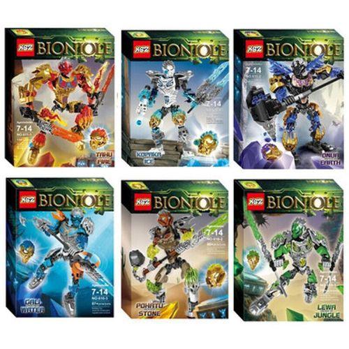 乐高生化战士全新系列聚能英雄工厂合体机器人暗影拼装男 英雄六款