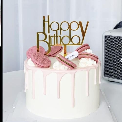 2021蜡烛生日蛋糕浪漫数字装饰家用跨年新年儿童烘焙