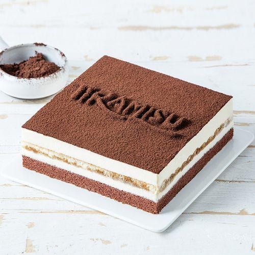 【优惠50元】提拉米苏蛋糕-2磅香浓的起士慕斯,手指饼