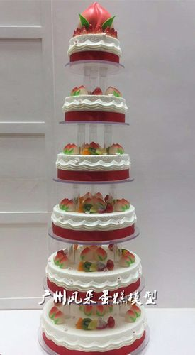 蛋糕模型祝寿多层6/9/10层18新款生日开业仿真水果