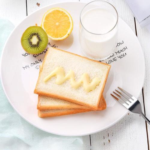2斤装奶酪吐司面包切片夹心手撕面包早餐炼奶三明治