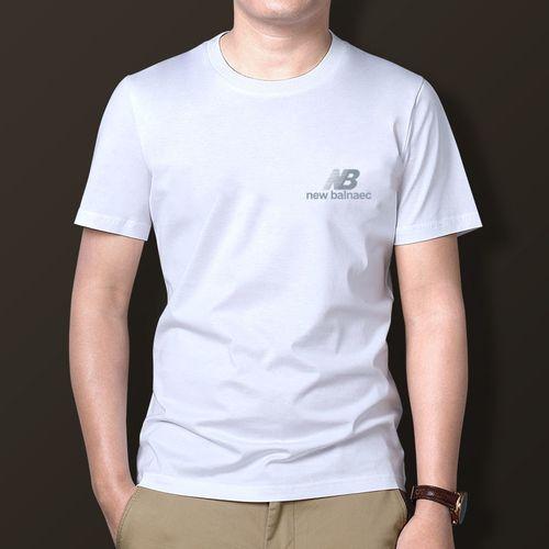 纯短袖t恤男士潮流上衣新款休闲体恤夏季短袖男打底衫男装手感好潇洒
